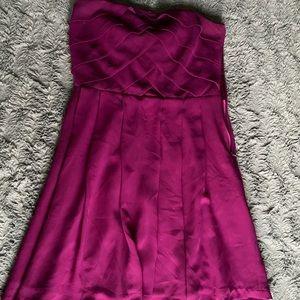 Mini Express Strapless dress